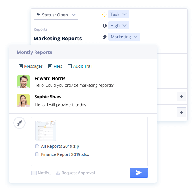 Attachments - Project Management Software - Easy Projects